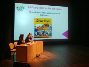 2º Encontro de Literatura Infantojuvenil Ler é Pra cima!, em outubro de 2012